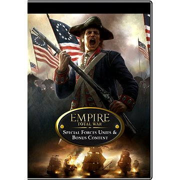 Empire: Total War - Special Forces DLC & Empire Pre-Order Units (251711)