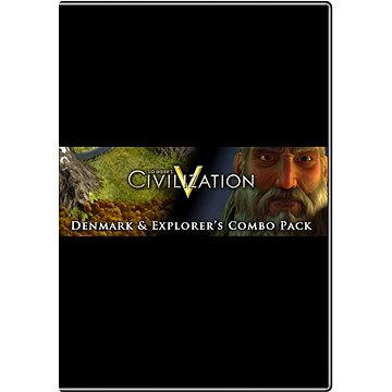 Sid Meiers Civilization V: Denmark and Explorers Combo Pack (252220)