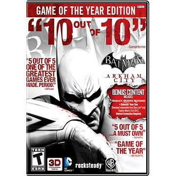 Batman: Arkham City Game of the Year Edition (252355)
