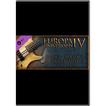 Europa Universalis IV: Guns, Drums and Steel Volume 2 music pack (252490)