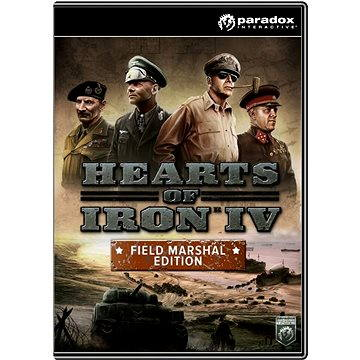 Hearts of Iron IV: Field Marshal Edition (PC/MAC/LINUX) DIGITAL (252958)