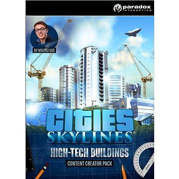 Cities: Skylines - Content Creator Pack: High-Tech Buildings (PC/MAC/LX) DIGITAL (281001)