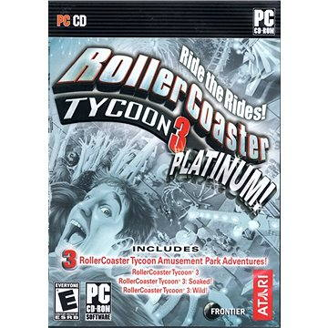 RollerCoaster Tycoon 3: Platinum (PC) DIGITAL (262911)