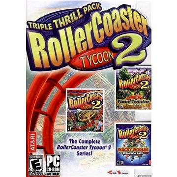 RollerCoaster Tycoon® 2: Triple Thrill Pack (PC) DIGITAL (262929)