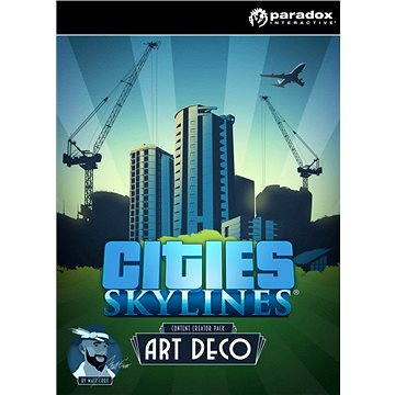 Cities: Skylines - Content Creator Pack: Art Deco (PC/MAC/LX) DIGITAL (267828)
