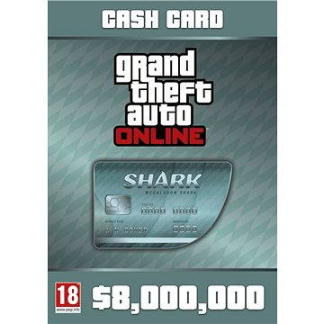 Grand Theft Auto V Megalodon Shark Card (PC) DIGITAL (287376)