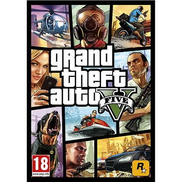 Grand Theft Auto V + Megalodon Shark Card (PC) DIGITAL (287379)