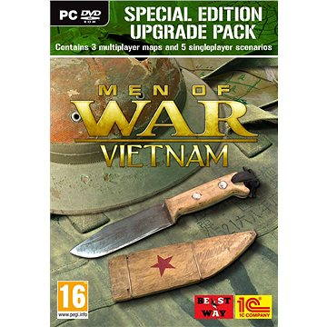 Men of War: Vietnam Special Edition Upgrade Pack (PC) DIGITAL Steam (332724)