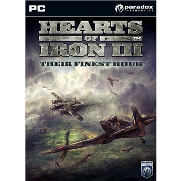 Hearts of Iron III: Their Finest Hour (PC) DIGITAL (252315)