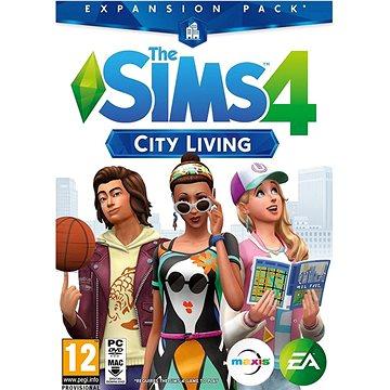 The Sims 4 Život ve městě (PC) DIGITAL (350595)