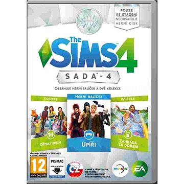 The Sims 4 Sada 4 (PC) DIGITAL (350568)