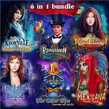 Hidden Object 6-in-1 bundle (PC) DIGITAL (373812)