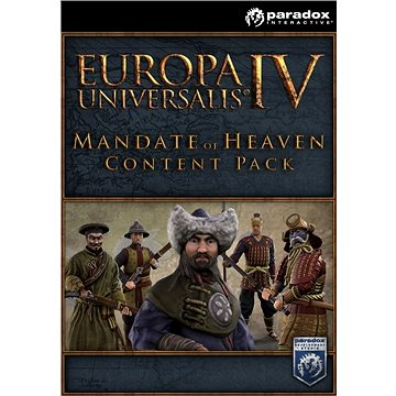 Europa Universalis IV: Mandate of Heaven Content Pack (PC) DIGITAL (365193)