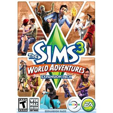The Sims 3 Cestovní horečka (PC) DIGITAL (443026)