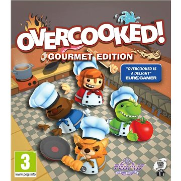 Overcooked: Gourmet Edition (PC) DIGITAL (CZ) (365322)