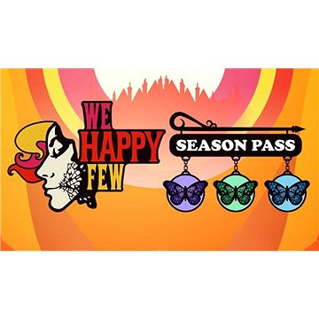 We Happy Few - Season Pass (PC) Klíč Steam (725236)