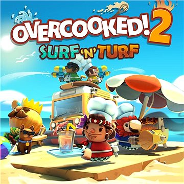 Overcooked! 2 - Surf and Turf (PC) Klíč Steam (653300)
