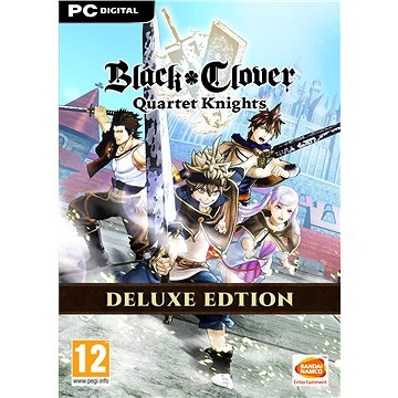 BLACK CLOVER: QUARTET KNIGHTS Deluxe Edition (PC) Steam DIGITAL (814306)