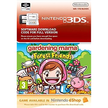 Gardening Mama: Forest Friends - Nintendo 2DS/3DS Digital (684578)