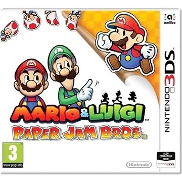 Mario and Luigi: Paper Jam Bros - Nintendo 2DS/3DS Digital (691174)