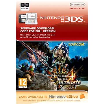 Monster Hunter 4 Ultimate - Nintendo 2DS/3DS Digital (707623)