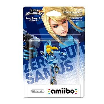 Amiibo Smash Zero Suit Samus (045496353032)
