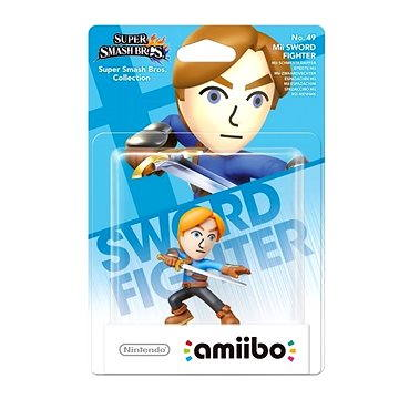 Amiibo Smash Mii Swordman (045496353117)