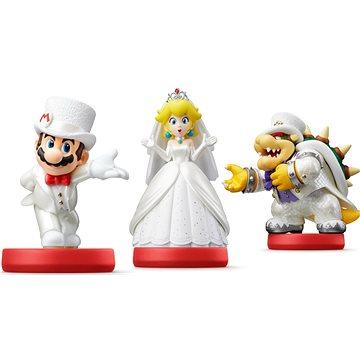 Amiibo Super Mario - svatební set (3) (045496380618)