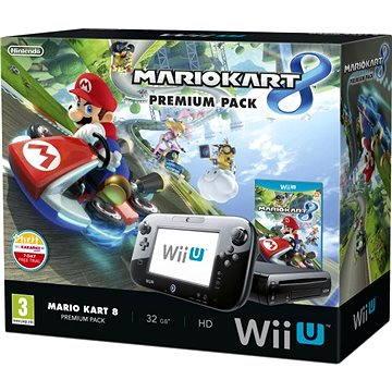 Nintendo Wii U Black Premium Pack (32GB) + Mario Kart 8 (045496311698)