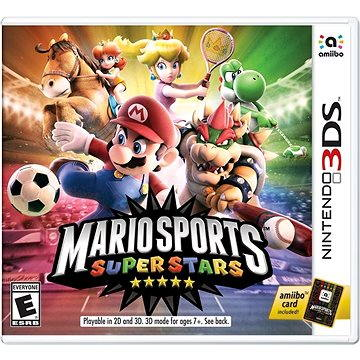 Mario Sports Superstars + amiibo card (1pc) - Nintendo 3DS (45496474669)