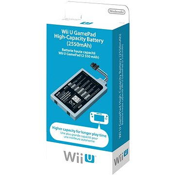 Nintendo Wii U GamePad High-Capacity Battery (45496321208)