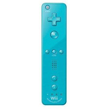 Nintendo Wii U Remote Plus (Blue) (45496321024)
