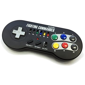 Hori Wireless Mini SNES Fighting Commander (873124006650)