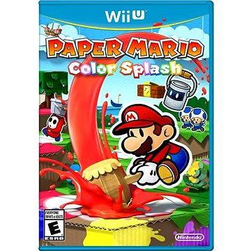 Paper Mario Color Splash - Nintendo Wii U (NIUS5770)