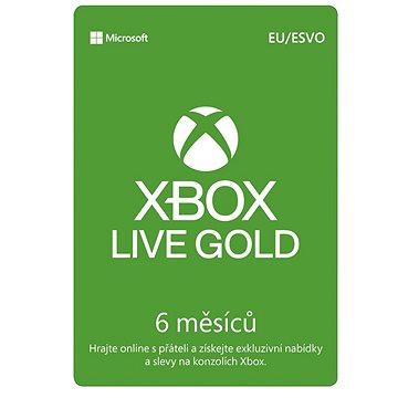 Xbox Live Gold - 6 měsíční členství (S3T-00005)