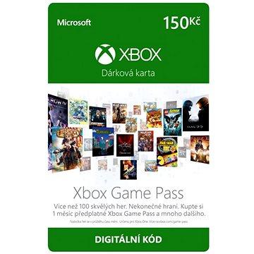 Microsoft Xbox Game Pass - měsíční členství CZ (K4W-03617)