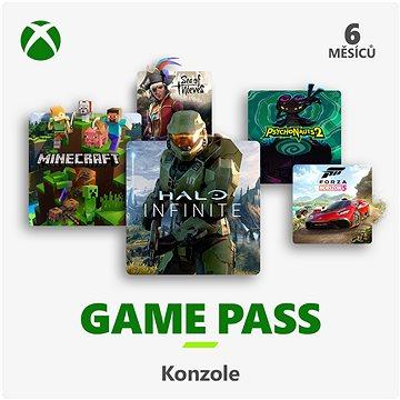 Xbox Game Pass - 6 měsíční předplatné (S3T-00004)