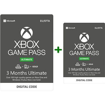 Xbox Game Pass Ultimate - 3+3 měsíční předplatné (nutnost aktivace do 8.2.2020)