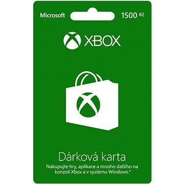 Microsoft Xbox Live Dárková karta v hodnotě 1500Kč (K4W-03078)