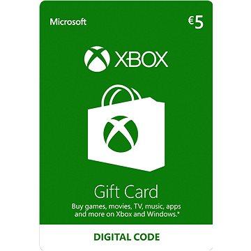 Microsoft Xbox Live Dárková karta v hodnotě 5 Eur (K4W-02557)