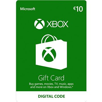 Microsoft Xbox Live Dárková karta v hodnotě 10 Eur (K4W-02558)