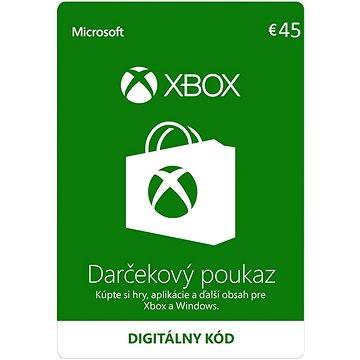 Microsoft Xbox Live Dárková karta v hodnotě 45 Eur (K4W-03421)