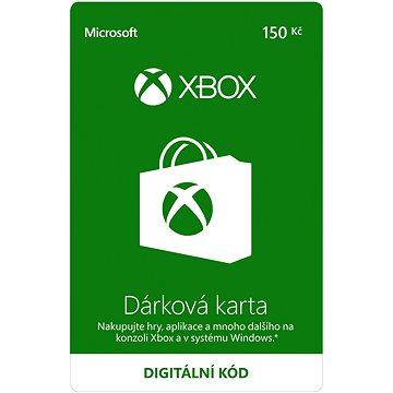 Microsoft Xbox Live Dárková karta v hodnotě 150Kč (K6W-01249)