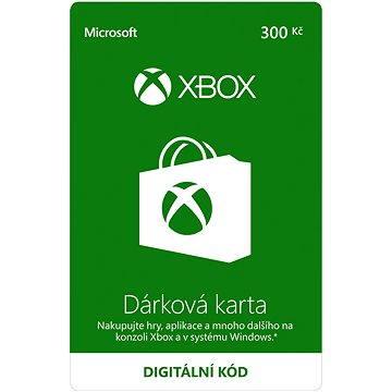 Microsoft Xbox Live Dárková karta v hodnotě 300Kč (K6W-01251)