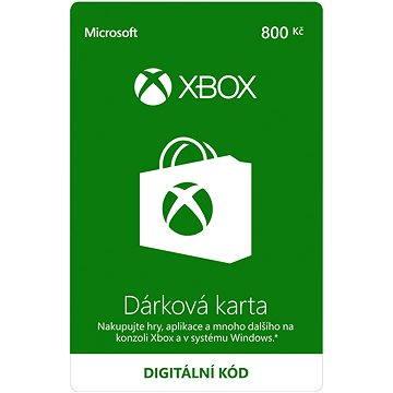 Microsoft Xbox Live Dárková karta v hodnotě 800Kč (K6W-01253)