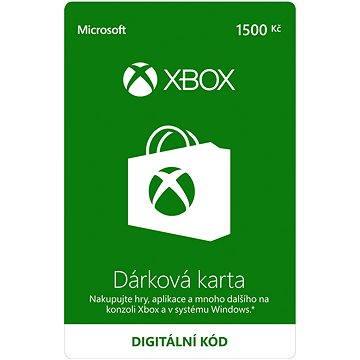 Microsoft Xbox Live Dárková karta v hodnotě 1500Kč (K6W-01250)