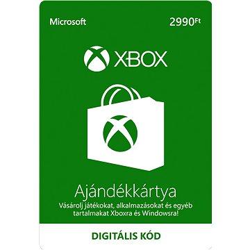 Microsoft Xbox Live Gift Card 2990Ft (K4W-03493)