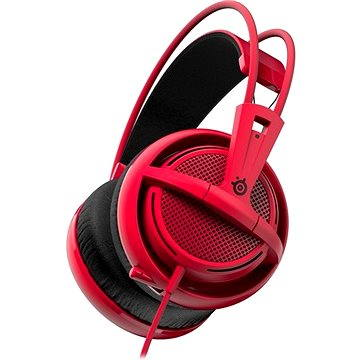 SteelSeries Siberia 200 Forged Red (51135) + ZDARMA Elektronický časopis LEVEL - 275