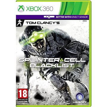 Tom Clancys: Splinter Cell: Blacklist CZ - Xbox 360 (3307215692004)