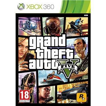 Grand Theft Auto V (GTA 5) - Xbox 360 (5026555258050)